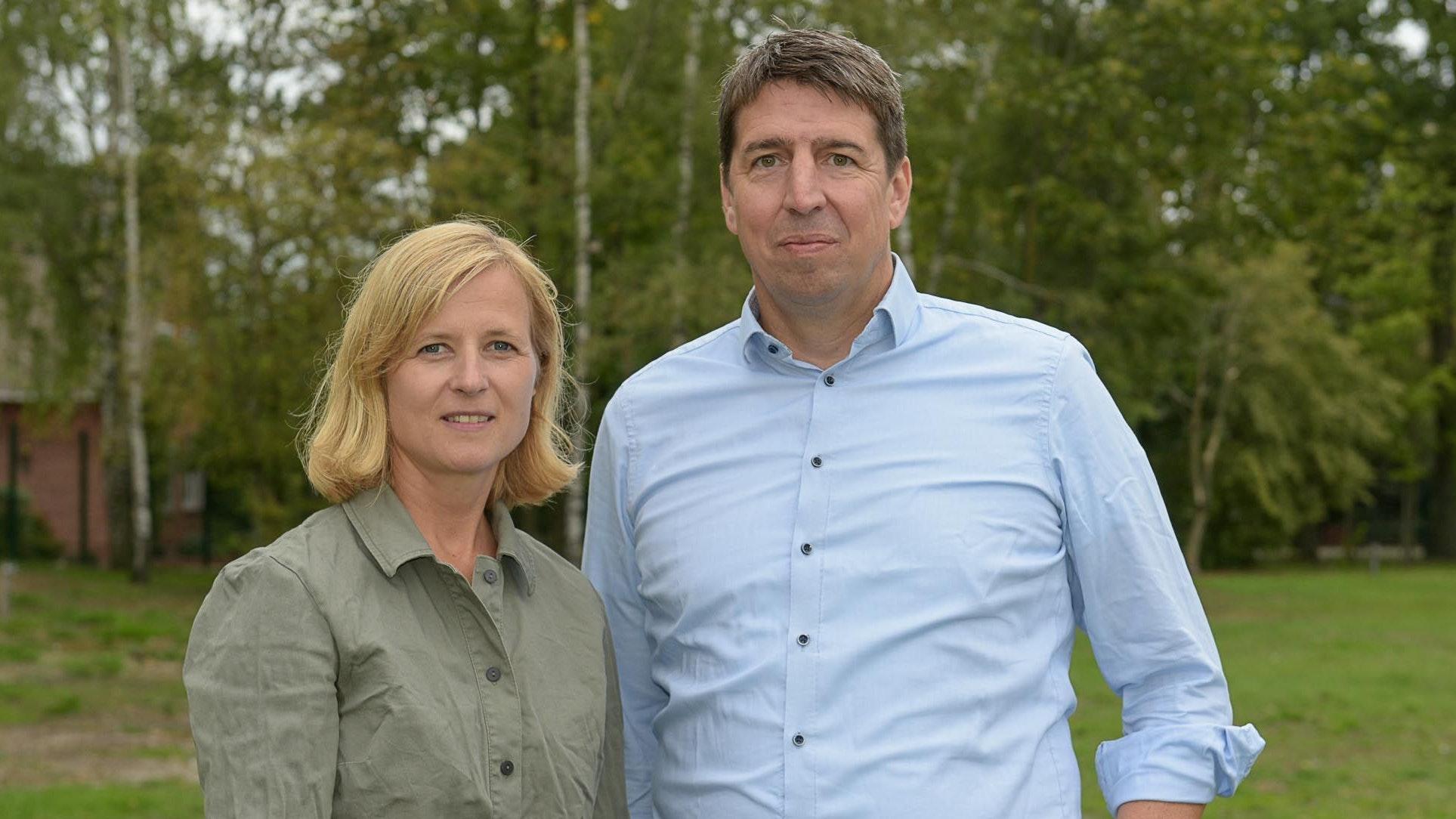 Kämpfer für einen nachhaltigen Sport: Barbara und Stefan Wagner aus Mühlen. Foto: Wenzel