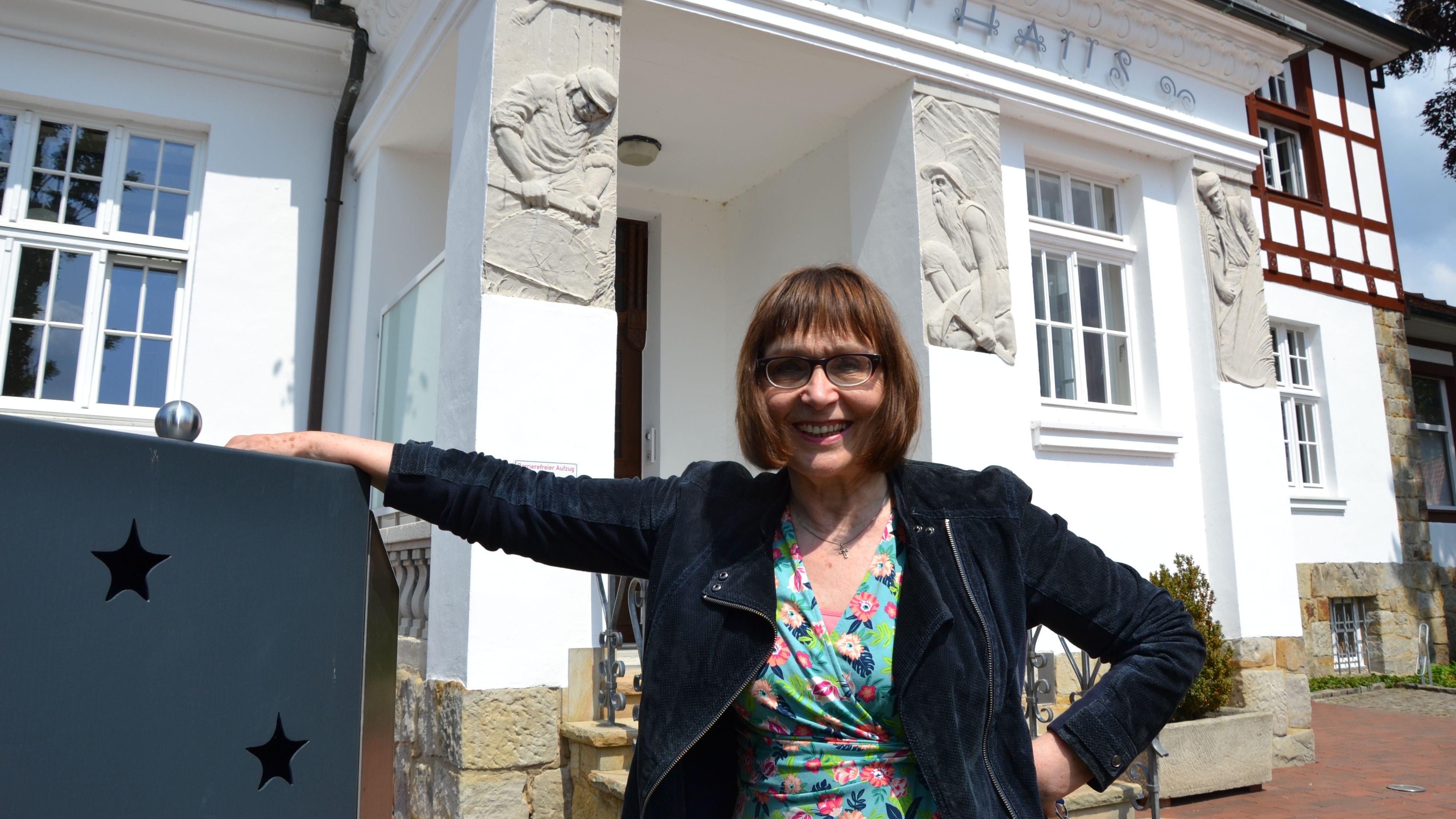 Arbeitsplatz Rathaus: Hildegard Middendorf ist seit 2001 Gleichstellungsbeauftragte in Essen. Foto: Meyer