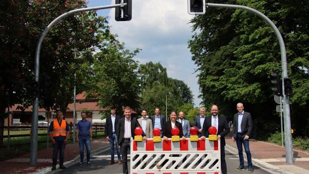 Sanierung derOrtsdurchfahrt in Höltinghausen abgeschlossen