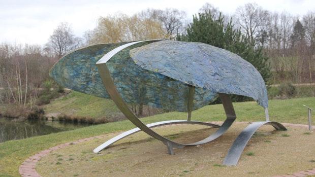 Linderner Park lädt mit Kunst zum Verweilen ein