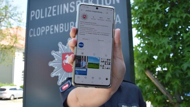 Follow me: Die Polizei der Landkreise ist jetzt bei Instagram
