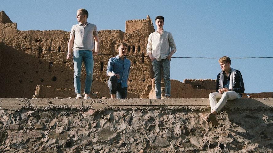 Ein aufgehender Stern am Indie-Pop-Himmel: die Band Jacob Fortyhands aus Lohne. Foto: Jacob Fortyhands