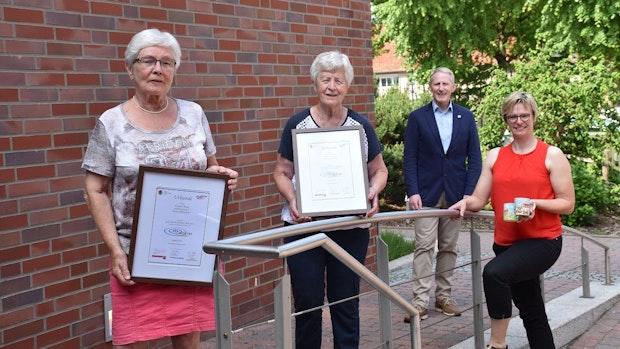 Hedwig Meier und Annegret Busse ausgezeichnet