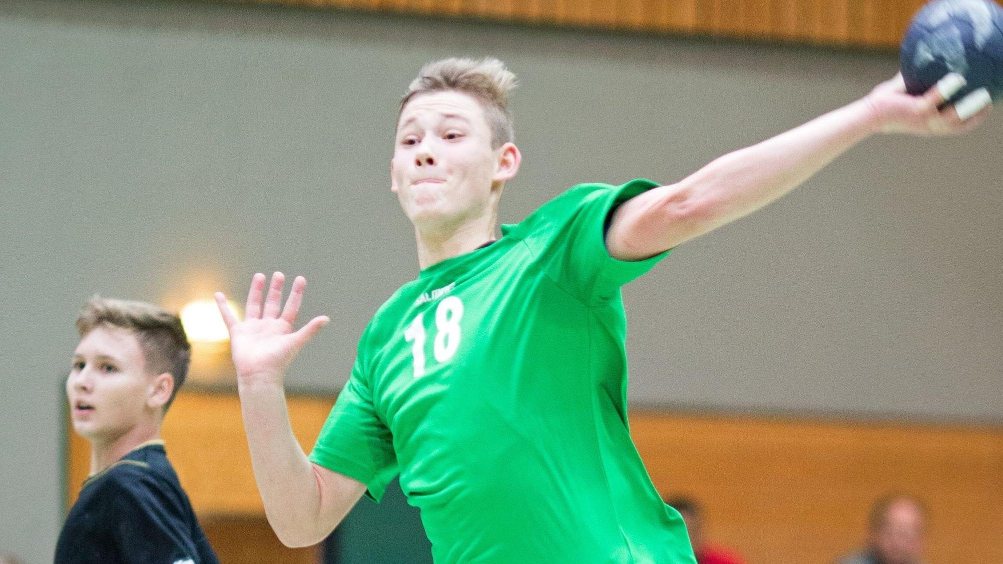 Er ist jetzt Jugend-Nationalspieler: Theo Teuteberg aus Lohne. Foto: Marx