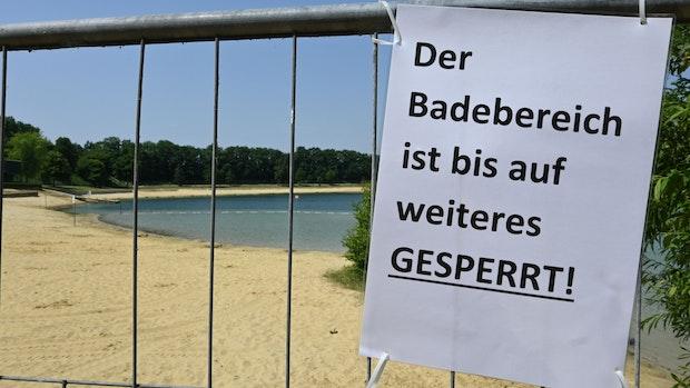 Gemeinde sperrt Halener Badesee: Hitzige Debatten am heißen Tag danach
