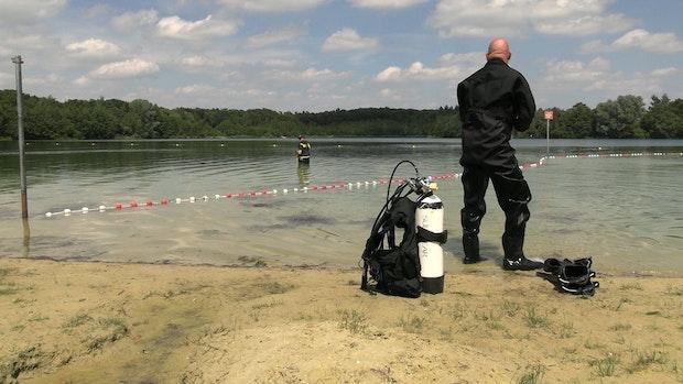 30-Jähriger am Badesee Halen vermisst