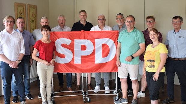 SPD wählt Vorstand und Kandidaten für den Gemeinderat