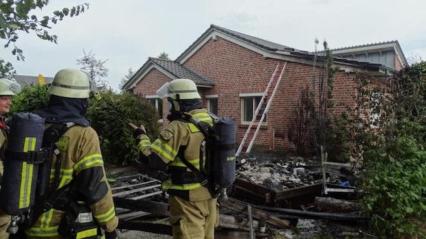 Nachbarn retten in Vechta Wohnhaus vor den Flammen
