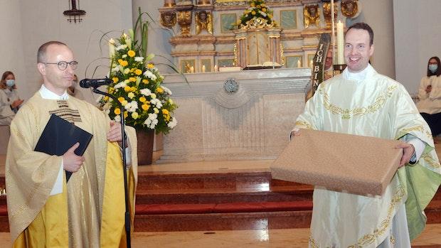 Primiz ein Jahr und einen Tag nach der Priesterweihe