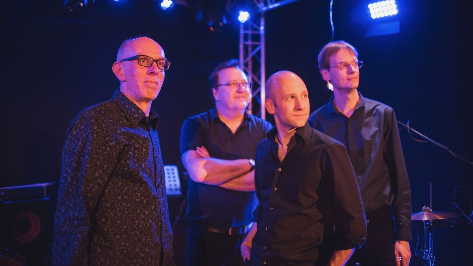 """Barock trifft Blues: Das ist das Konzept der Band """"Blue Note Bach"""", die beim Kultursommer auftreten. Foto: Yannick Mayntz"""