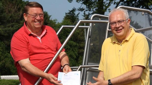 """Auszeichnung für """"das beste Badewasser in Niedersachsen"""""""