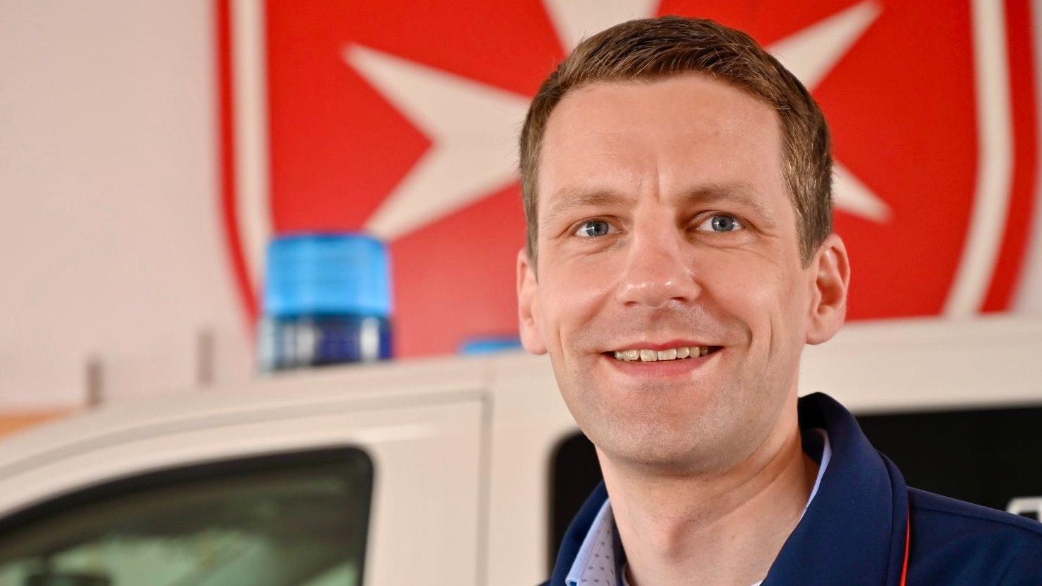 Engagiert sich gern als SEG-Leiter der Malteser in Damme: Michael Gier. Foto: M. Niehues