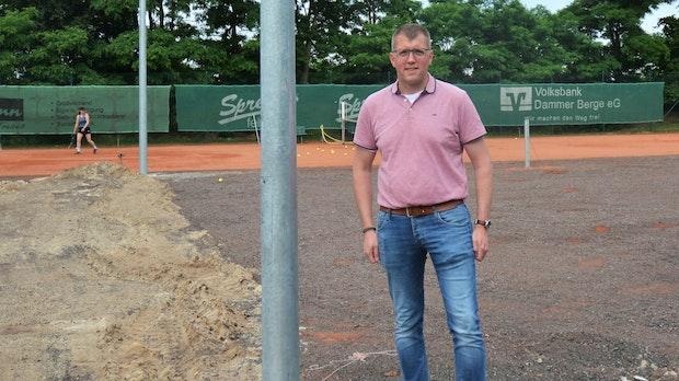 Tennisverein Holdorf fiebert neuen Allwetterplätzen entgegen