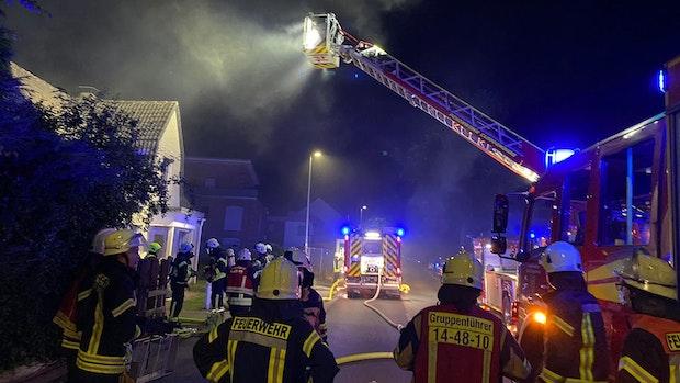Cloppenburger Einfamilienhaus ist nach Brand unbewohnbar