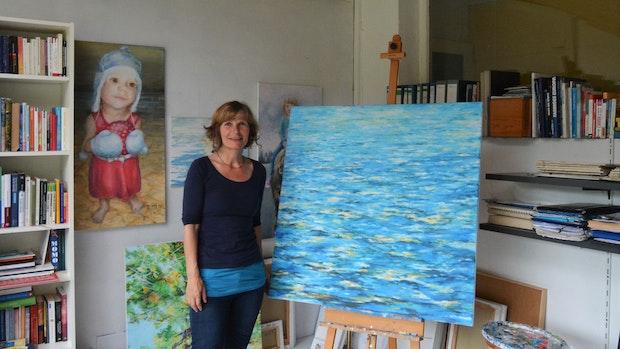 Marion Krause stellt sich und ihre Kunst vor