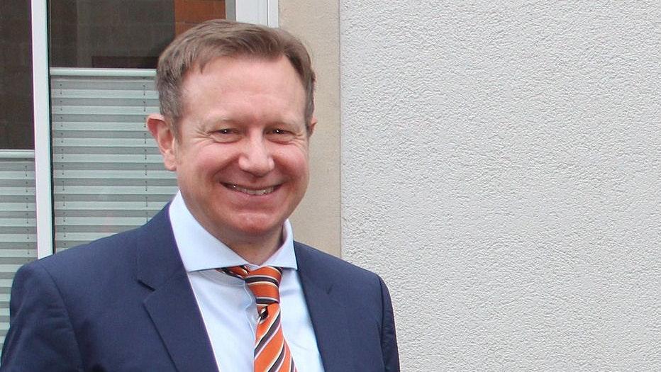 Kurzer Abstecher nach Damme: Dr. Niklas Cruse bei seiner Vorstellung als neuer Geschäftsführer im Februar dieses Jahres. Foto: Meyer