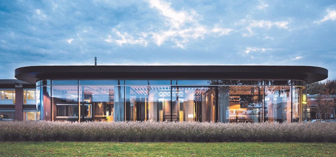 Ausgezeichnet: Die Ausstellungshalle von Schmidt-Visbek erhielt 2020 eine Würdigung beim German red dot design award. Foto: Piera
