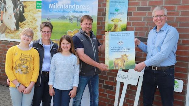 Hof Lucassen gewinnt Milchlandpreis 2020