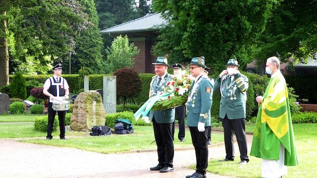 Emsteker feiern Jubiläumsschützenfest im Homeoffice
