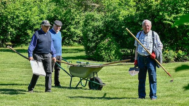 Das Gebot in Pastors Garten: Pünktlichkeit