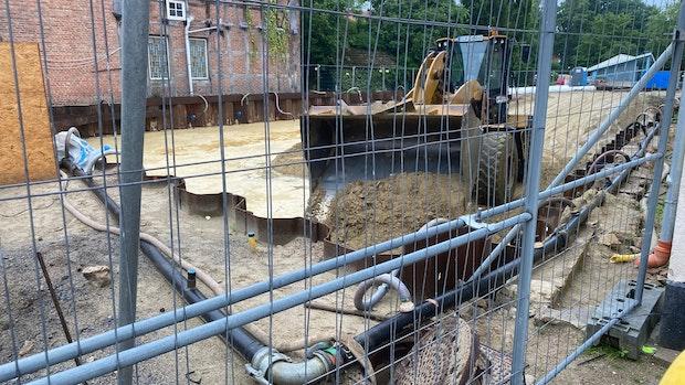 """Operation"" am Fundament soll Projekt in der Stadtmitte retten"