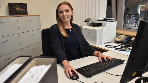 Caroline Kathmann ist die neue Expertin rund um das Thema Rente im Lohner Rathaus