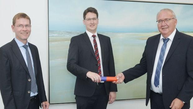Wechsel an der Volksbank-Spitze: Jansen übergibt Staffelstab