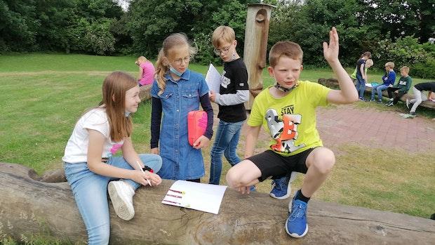 Schüler des Kardinal-von-Galen-Hauses wollen ein Grünes Klassenzimmer einrichten