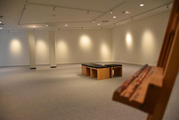 Mehr Möglichkeiten zur Ausstellung: Im Obergeschoss des Anbausbefindet sich auch die Galerie Luzie Uptmoor, die im Herbst ihre Eröffnung feiert. Foto: Timphaus