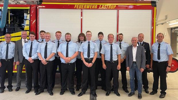 In Lastrup bleibt die Brandbekämpfung Männersache