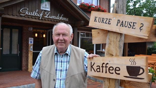 """Heinz Zumdohme ist """"ein echter Typ mit klarer Haltung"""""""