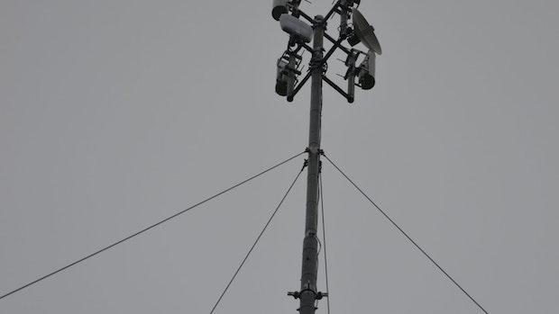 Mobile Masten sorgen für schnelles Netz