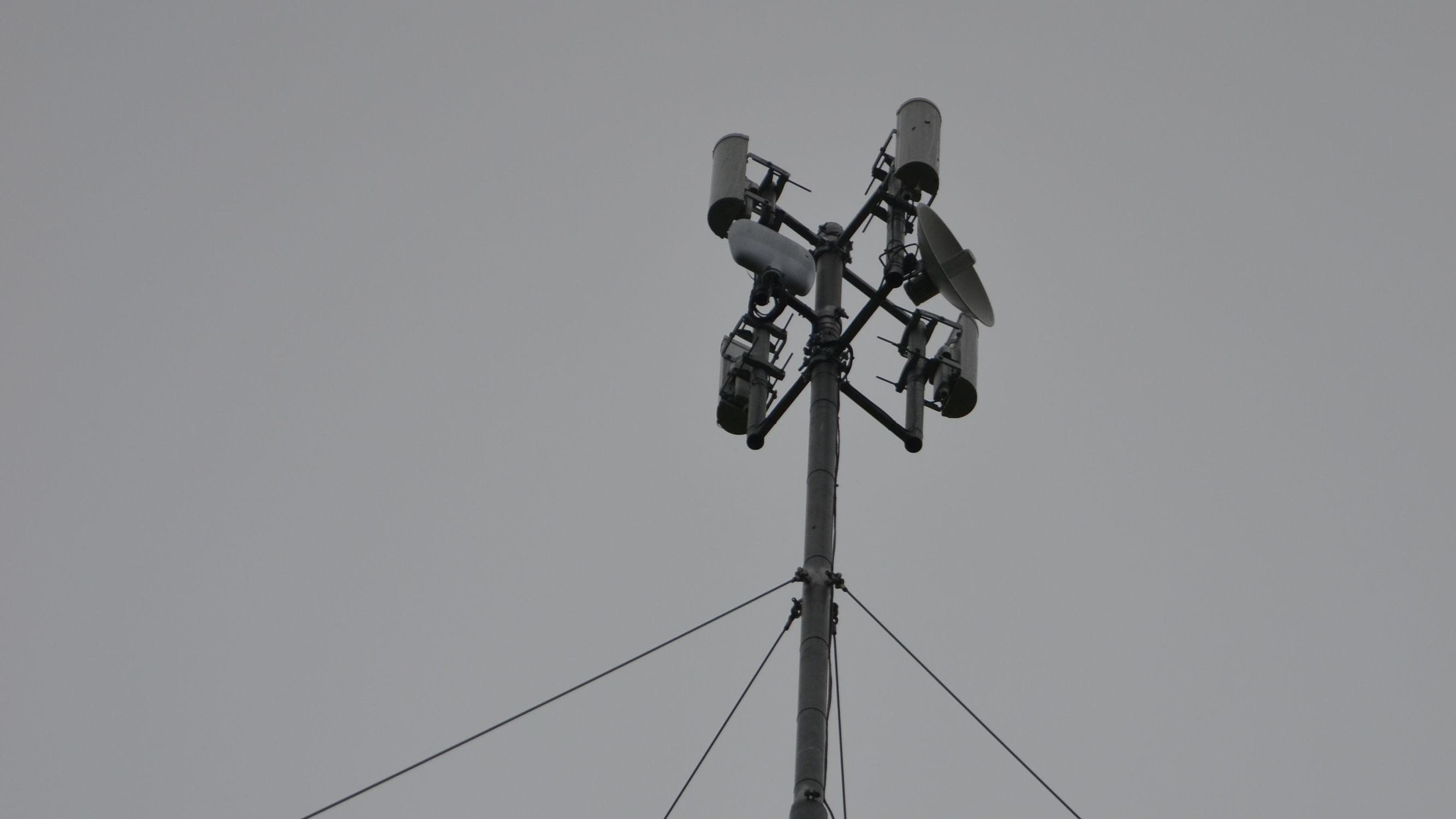 Internet aus der Luft: Per Richtfunk soll die Versorgung verbessert werden. Foto: G. Meyer