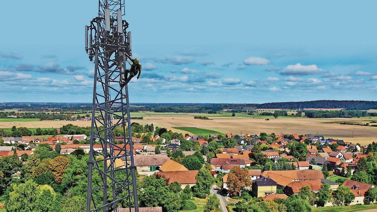Bauanträge gestellt: Die ETN-Group will 5 Gittermasten-Sendetürme bauen. Foto: ETN