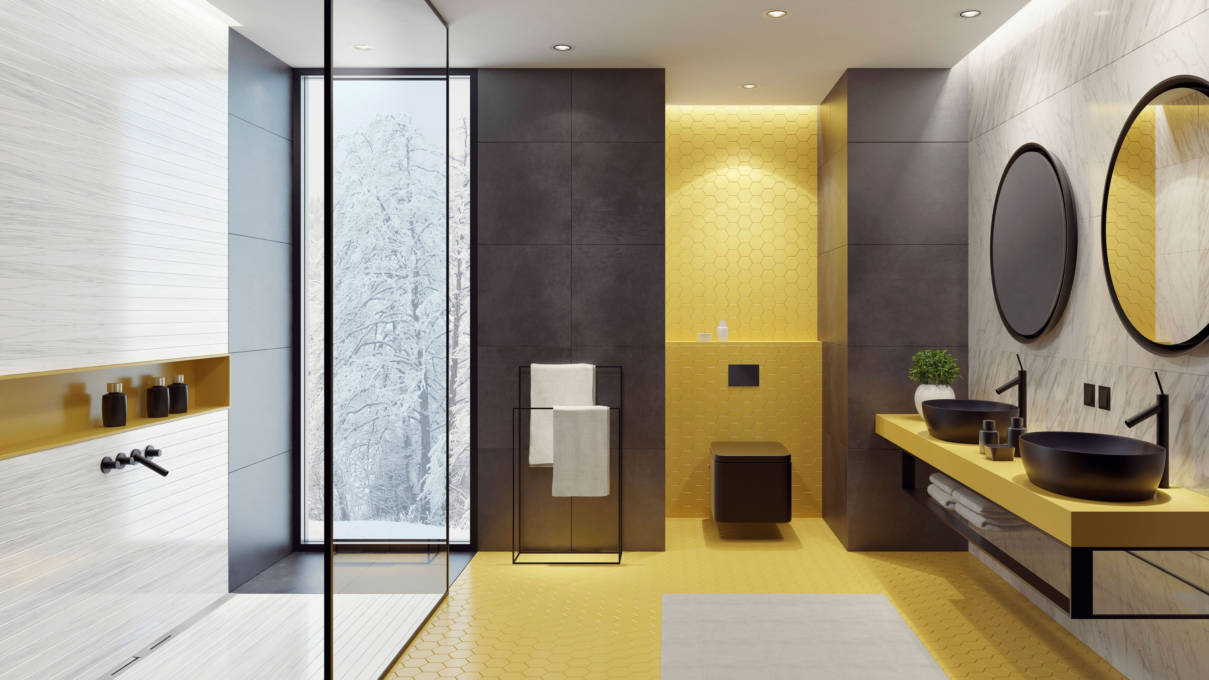 Eine schwellenfreie und großzügige Dusche wertet jedes Wohlfühlbad auf. Maßgenaue Duschrinnen sorgen für einen zuverlässigen Wasserablauf. Foto: djd/Gutjahr Systemtechnik/Getty Images/tulcarion