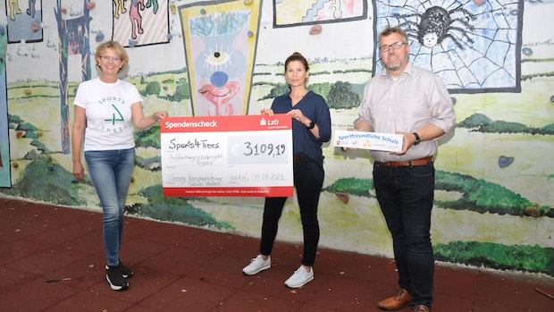 Sportfreundliche Oberschule unterstützt Umweltprojekt