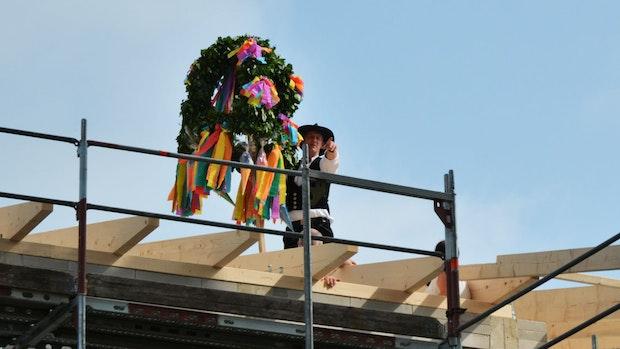 Grundschule Vörden feiert Richtfest