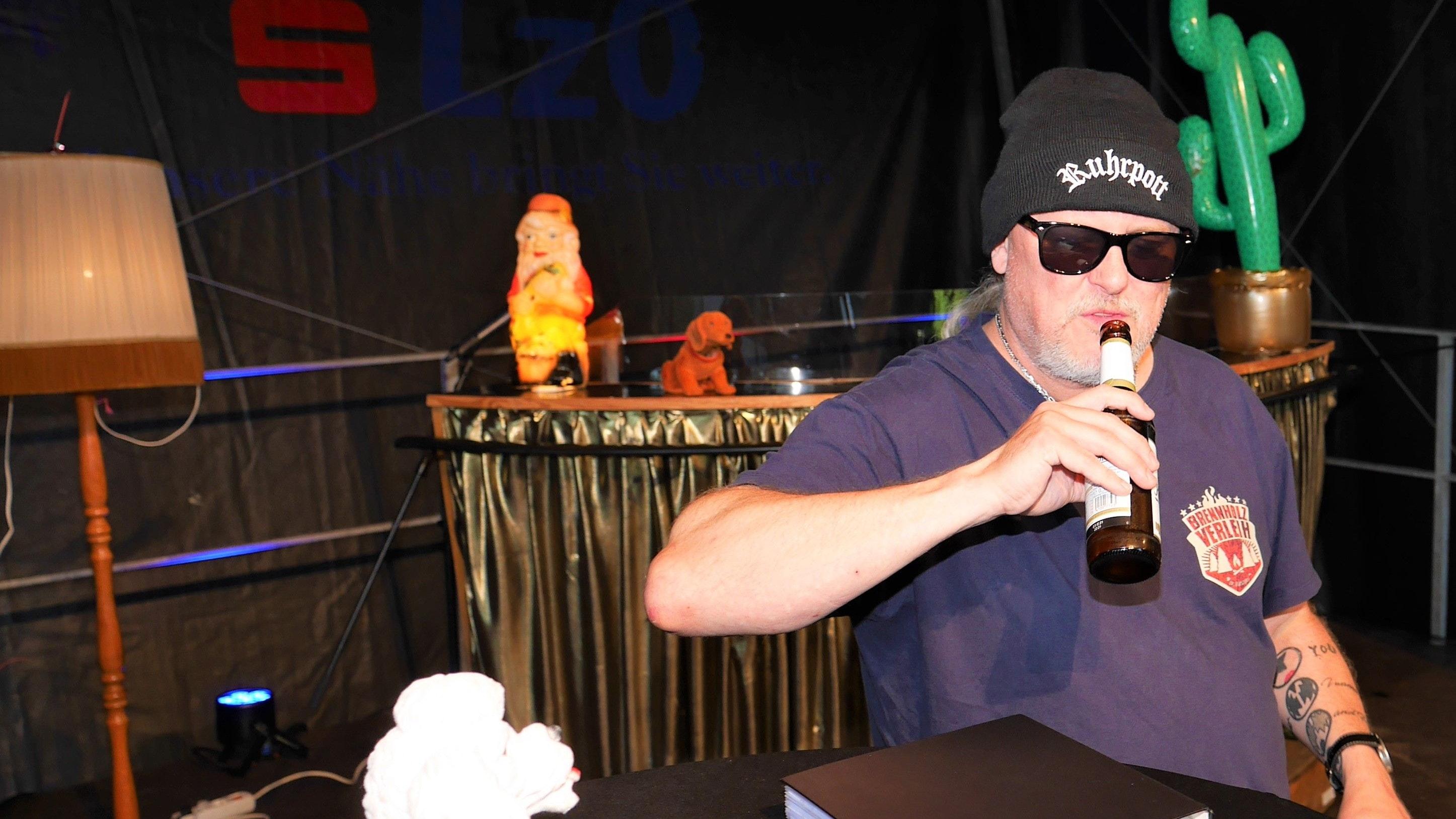 Für jeden Spaß zu haben: Ruhrpott-Comedian Markus Krebs. Foto: Schmutte