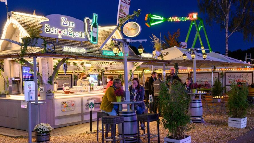 Freizeitpark auf dem Stoppelmarkt in Vechta 2020. Foto: M. Niehues