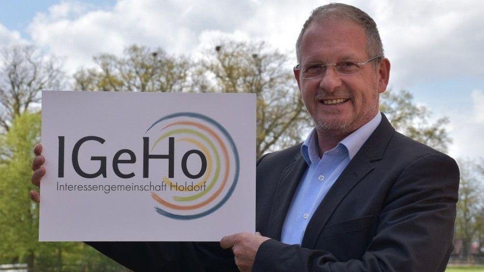 Vorsitzender der Interessengemeinschaft Holdorf: Andreas Lucht steht auf Listenplatz 2. Foto: Wehring