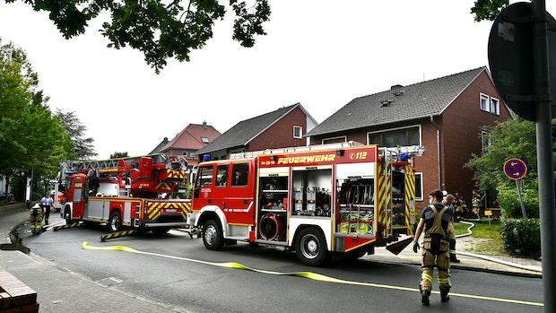 Wohnküche brennt vollständig aus