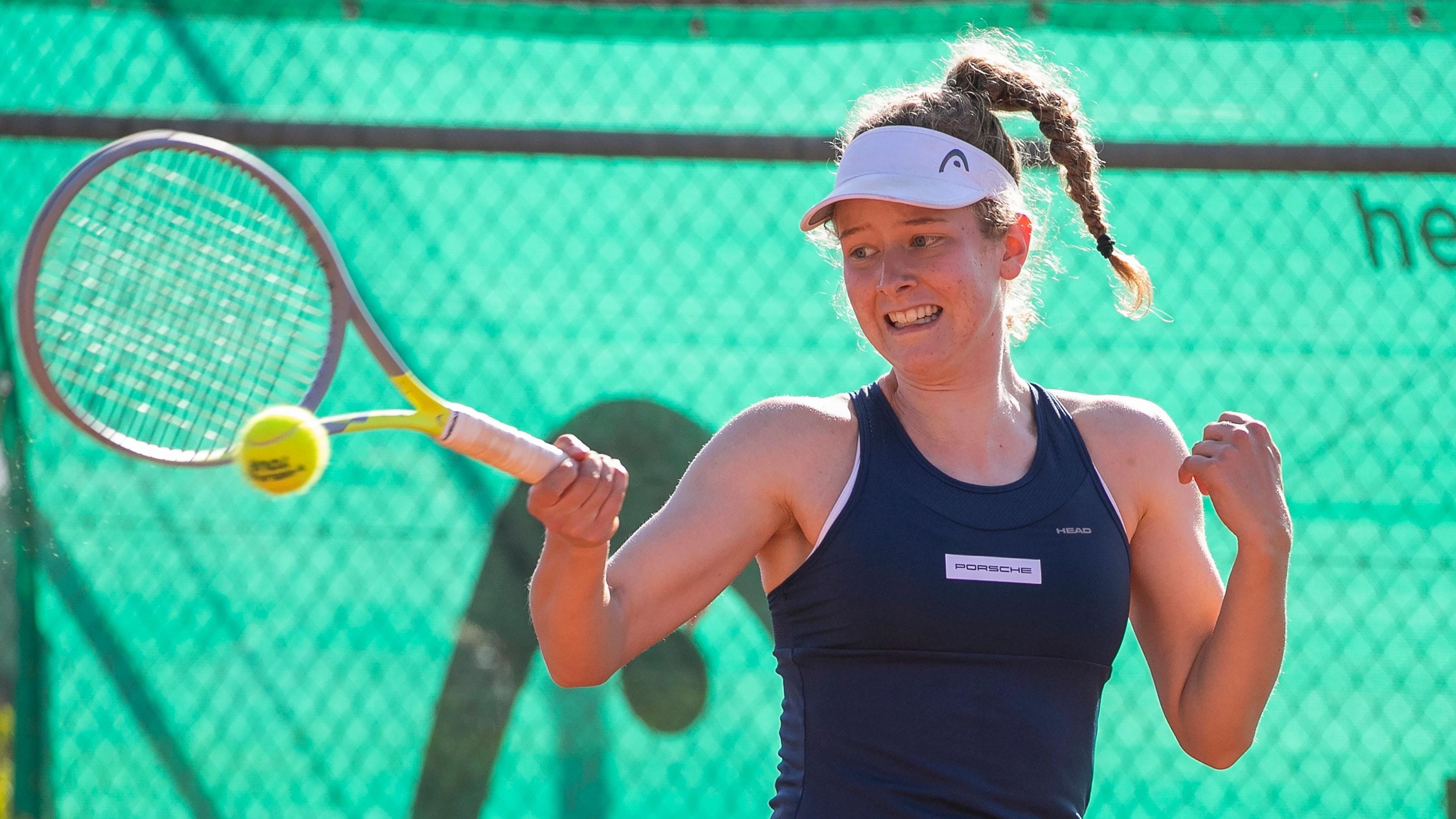 EM-Aus in Runde drei: Julia Middendorf aus Dinklage. Foto: Jürgen Hasenkopf