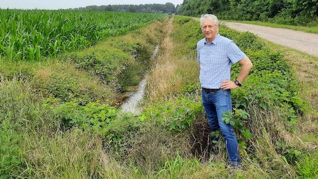Kleines Sperrwerk soll Wasserknappheit im Sommer verhindern