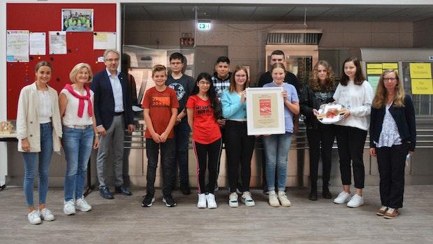Sterne für die Mensa der Oberschule Neuenkirchen-Vörden