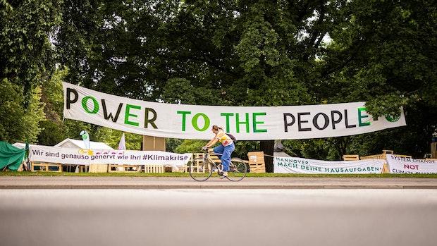 Aktivisten melden Camp in Hannover an – bis ins Jahr 2035