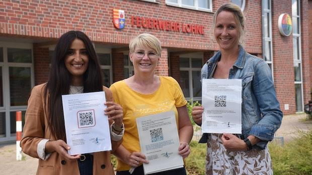 Sprachfachkräfte von 3 Lohner Kitas starten QR-Code-Aktion für Familien
