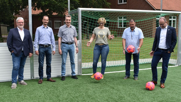 """Soccerplatz ist """"Highlight für das ganze Dorf"""""""