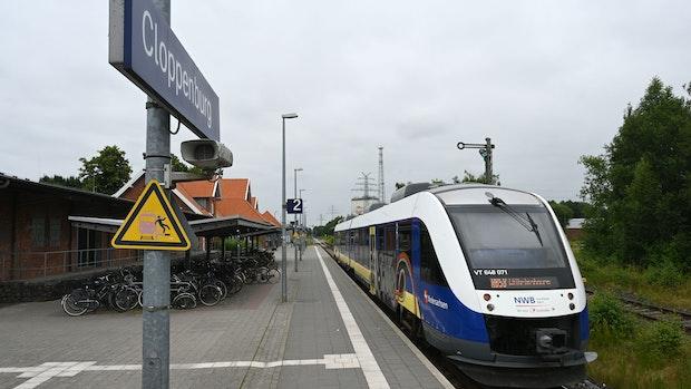 Als Symbol: Olivier bringt ICE-Haltestelle in Cloppenburg ins Spiel