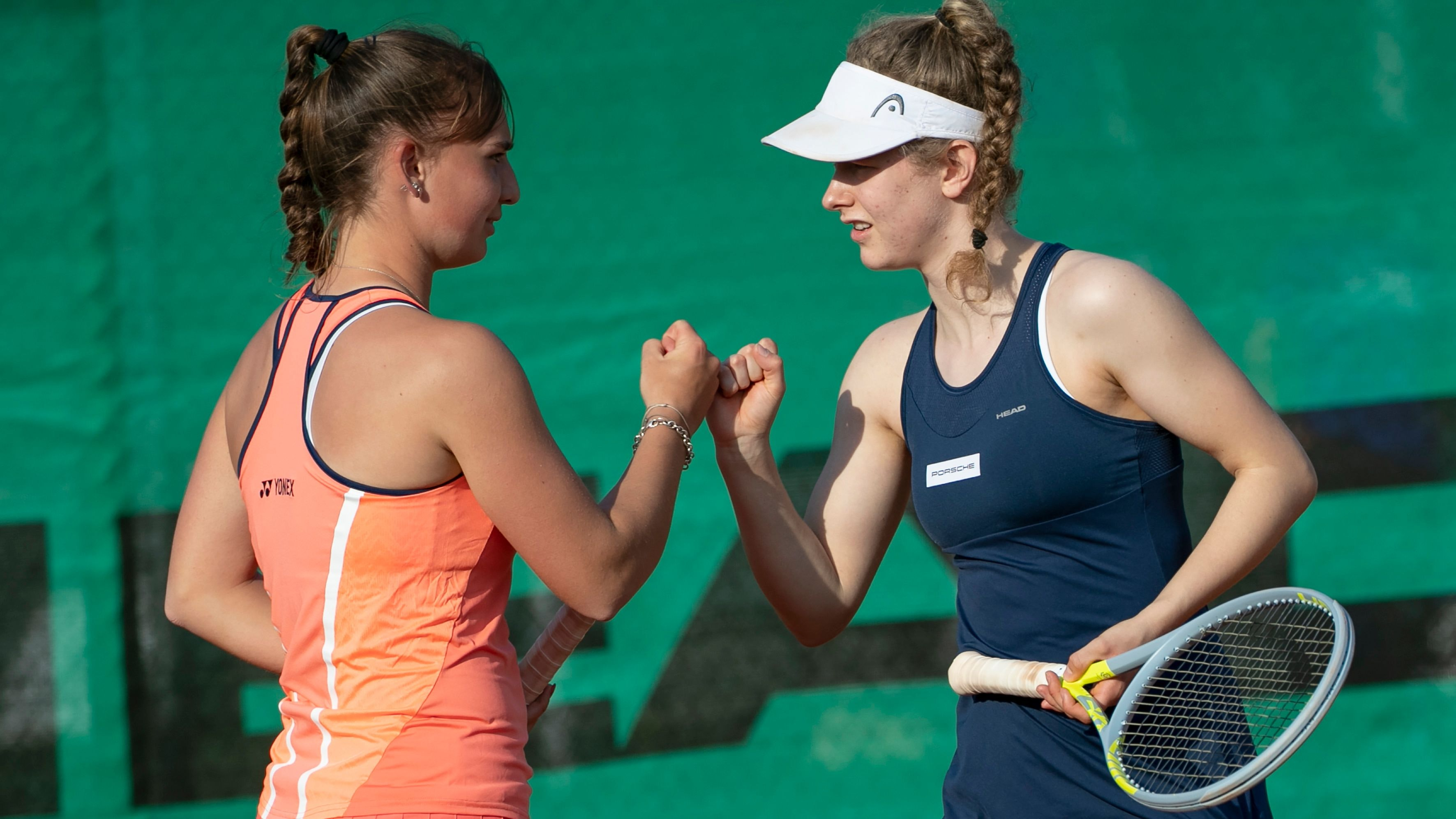 Stehen im EM-Finale: Mara Guth (links) und Julia Middendorf. Foto: Hasenkopf