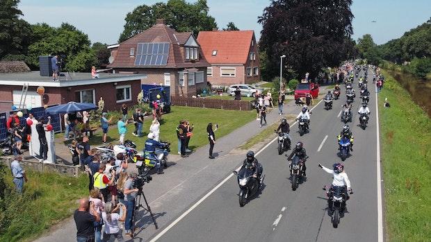 """Tausende Motorradfahrer machen """"Krach für Kilian"""""""